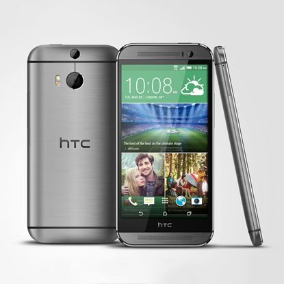 HTC One M8 Android L 5.0 Lollipop का चित्र